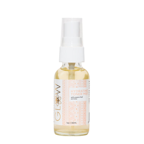 GlowRx Skincare Hydrating Toner mist, white background