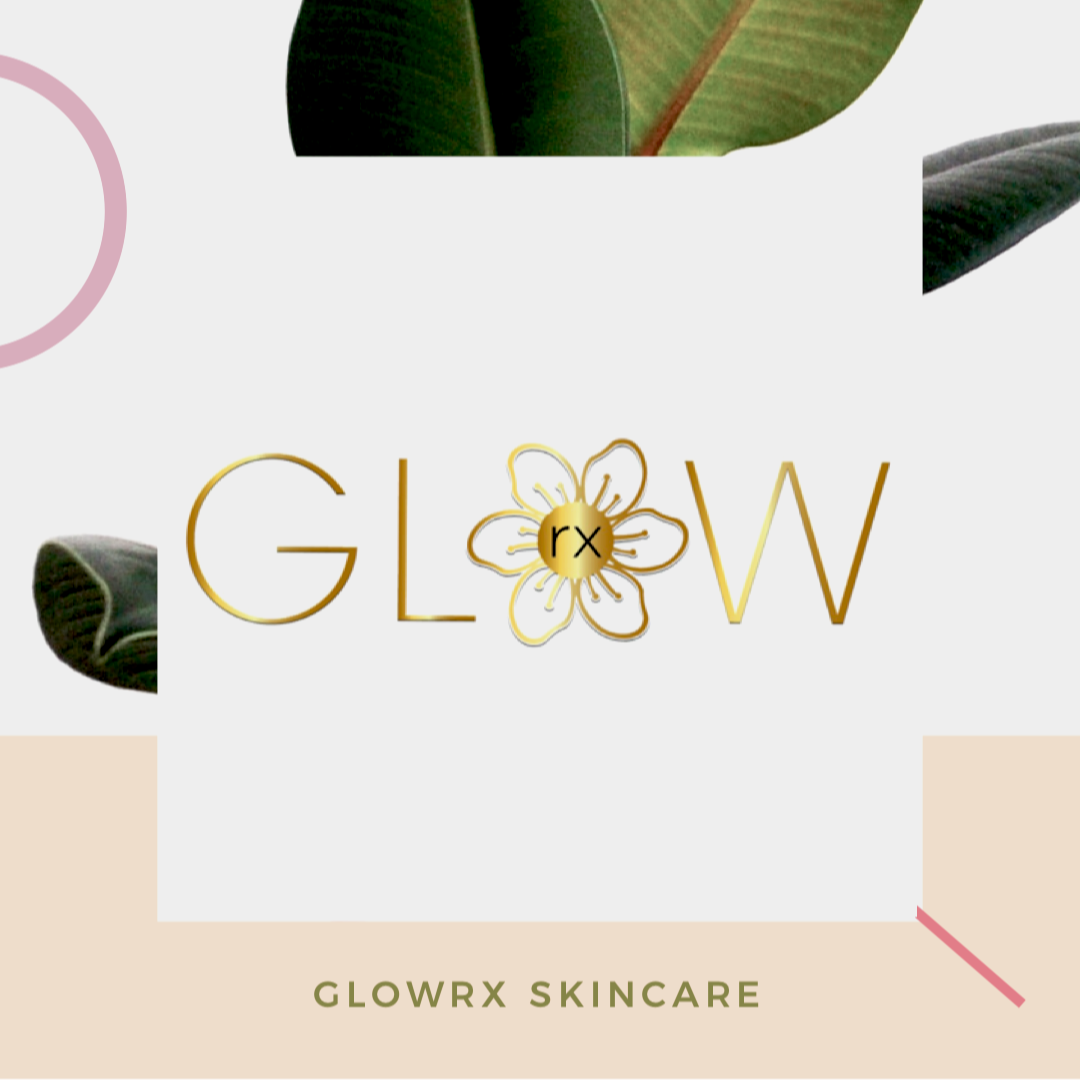 GlowRx Skincare Gift Cards, leaf background