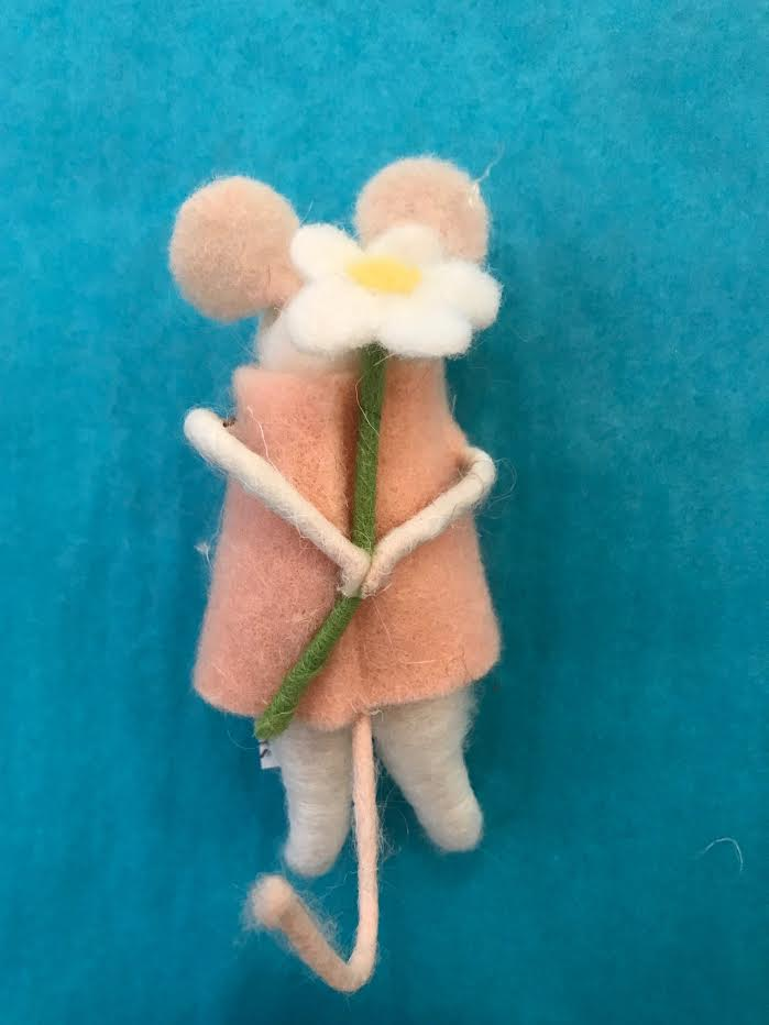 Elodie Mouse Ornament