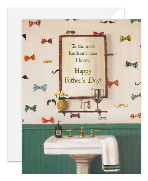 Handsome Father's Day Card