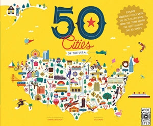 50 Cities of the USA Book