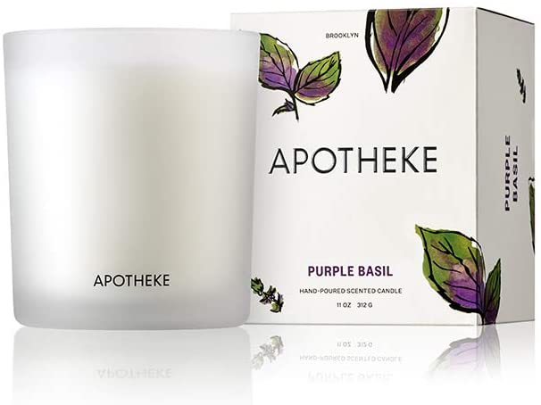 Purple Basil Candle