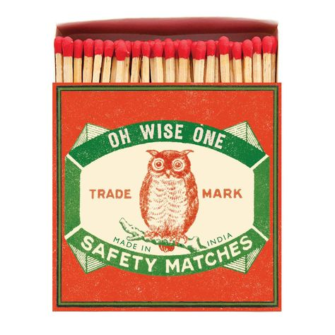 Owl Matchbox