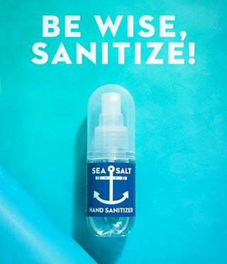 Sea Salt Hand Sanitizer
