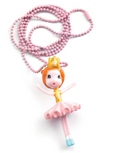 Lovely Charms Ballerina Necklace