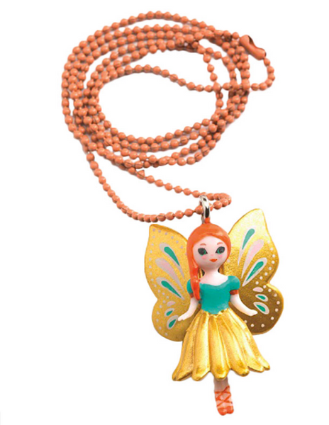 Lovely Charms Butterfly Necklace