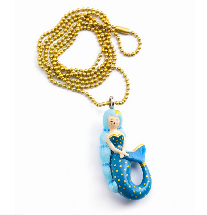 Lovely Charms Mermaid Necklace