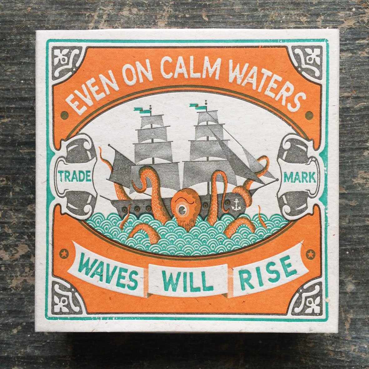 Even on Calm Waters Matchbox