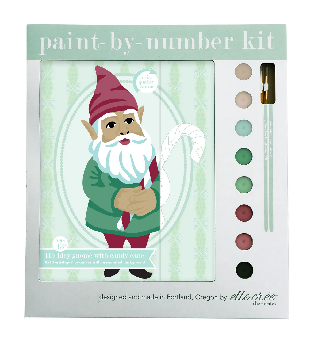Holiday Paint By Number Kit