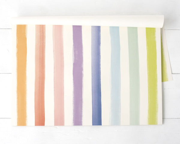 Sorbet Painted Stripe Placemats
