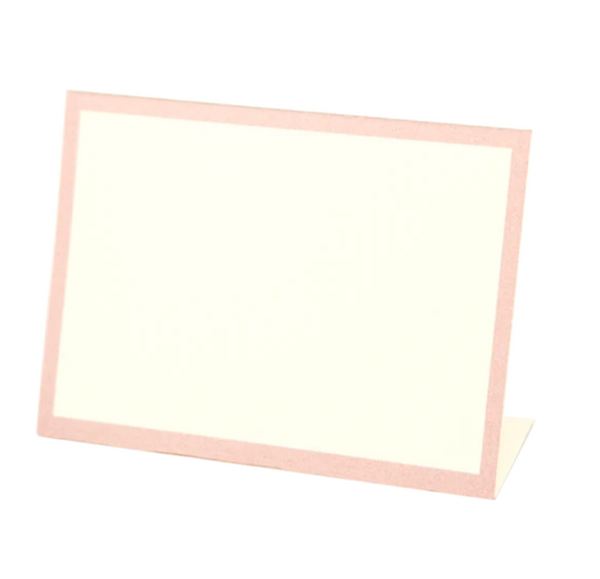 Pink Frame Place Cards