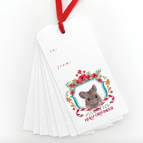 Merry Christmouse Gift Tags