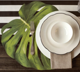Monstera Leaf Placemats