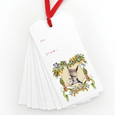 Possum in a Pear Tree Gift Tags
