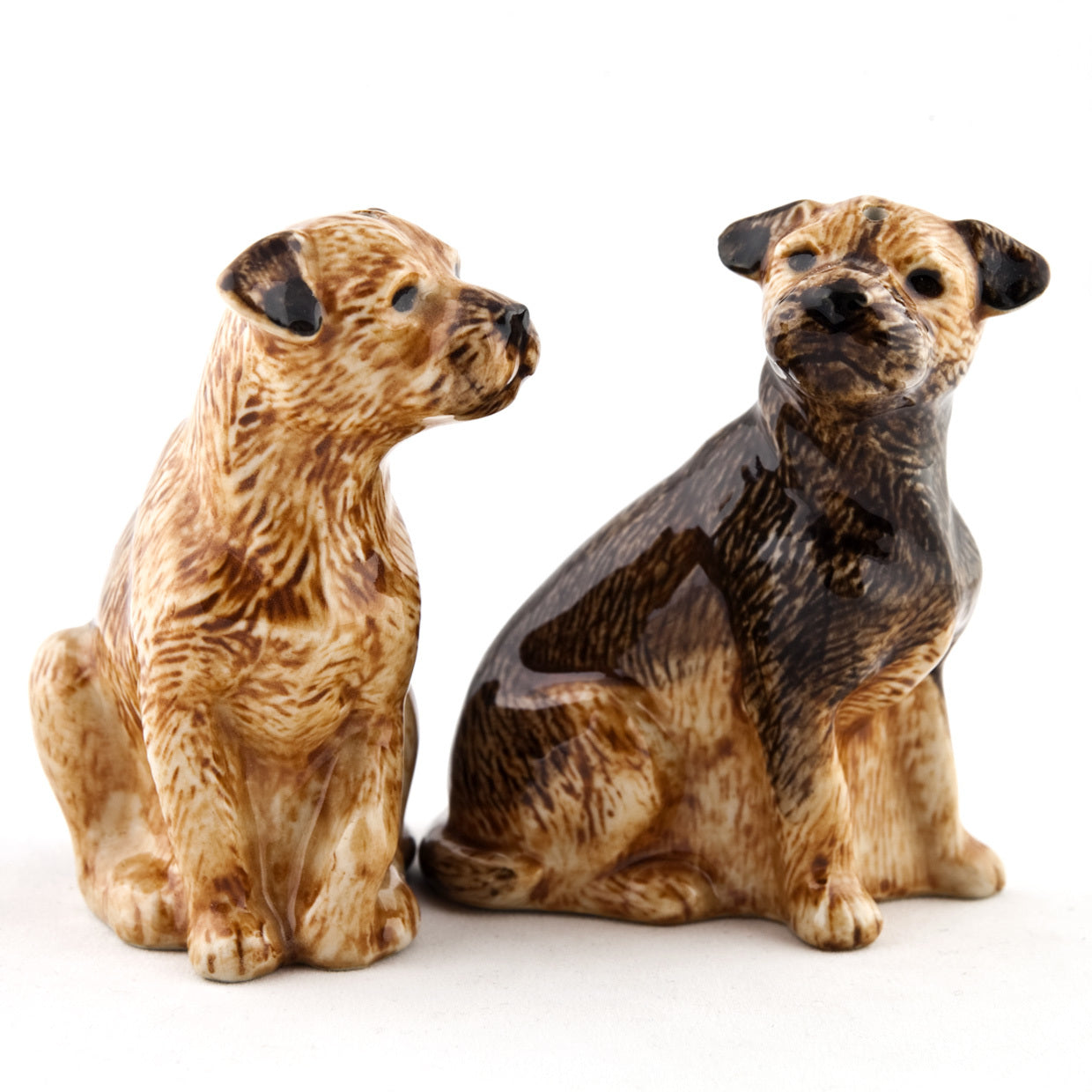 Border Terrier Salt & Pepper Set
