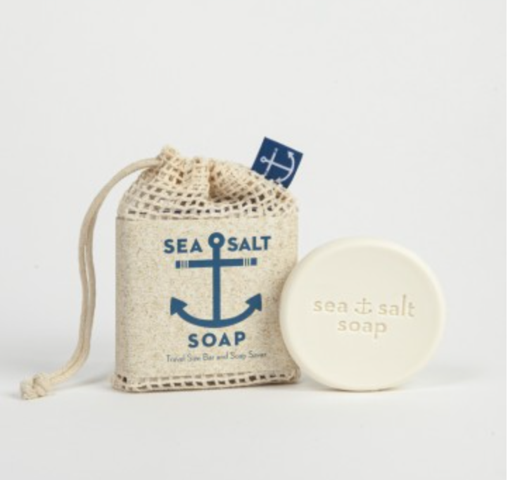 Sea Salt Soap w/ Soap Saver