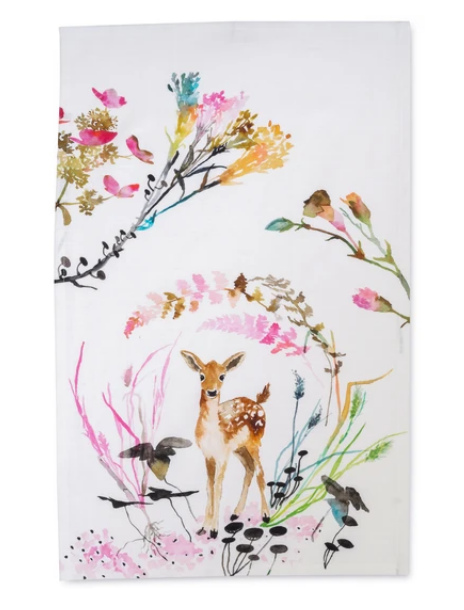 Fawn Tea Towel