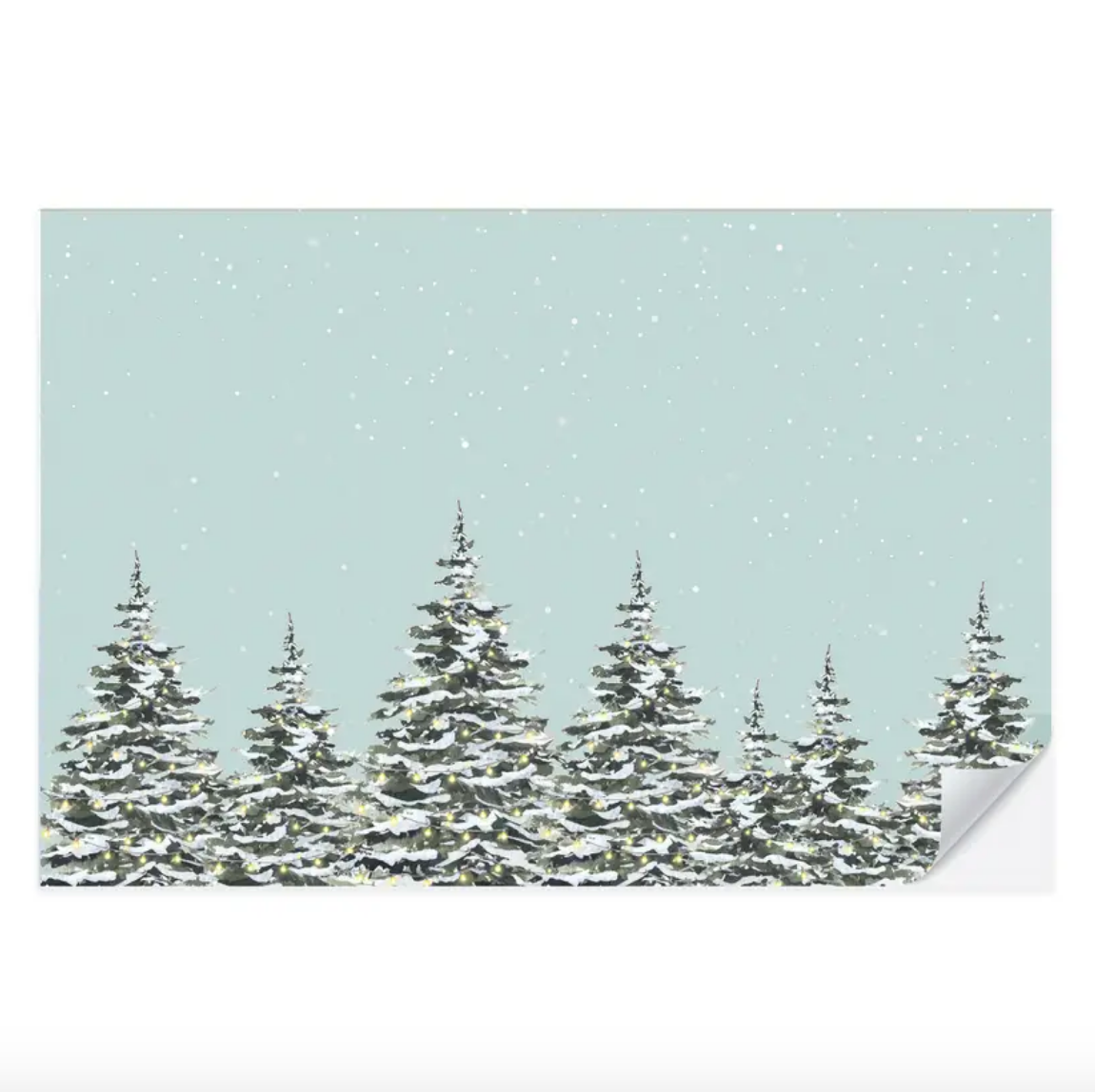 Snowy Trees Placemats