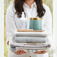 Thymes Washed Linen Collection