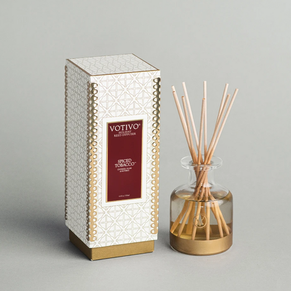 Spiced Tobacco Holiday Reed Diffuser
