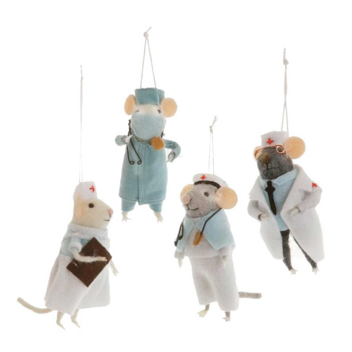 Medical Mouse Ornament