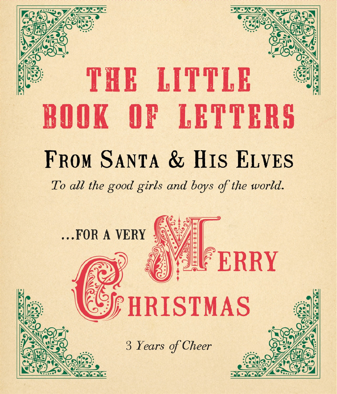 Little Book of Letters From Santa & His Elves