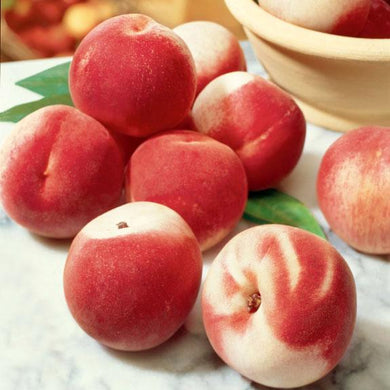 Organic white peaches 0.45-0.50lbs