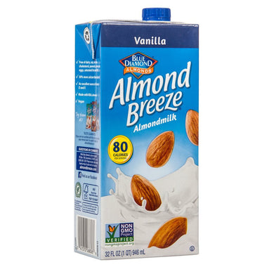 Blue Diamond Vanilla Almond Milk Breeze 32 fl oz