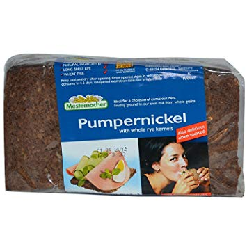 Mestemacher Natural Pumpernickel with Whole Rye Kernels