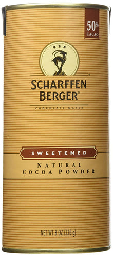 Scharffen Berger sweetened natural cocoa powder