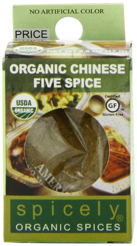 Spicely Organic Chinese Five Spice 0.4 oz