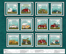 Load image into Gallery viewer, Papa's Old Truck Children's Cloth Book Panel