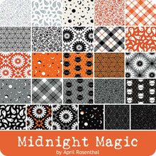 Load image into Gallery viewer, Moda Midnight Magic Quilt Kit