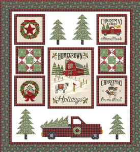 Homegrown Holidays by Deb Strain for Moda Fabrics 54x58