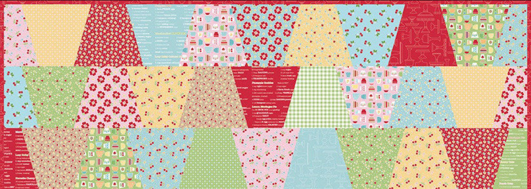 Lori Holt's A Cozy Kitchen Table Runner Kit
