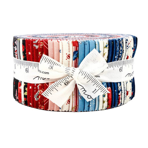 Harbor Springs Jelly Roll by Moda