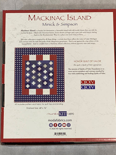 Moda Mackinac Island Quilt Kit