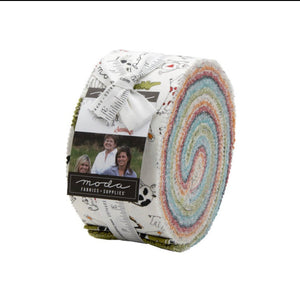 Animal Crackers Jelly Roll by Sweetwater and Moda Fabrics A