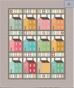 Prim Village Quilt Kit by Lori Holt of Bee in My Bonnet -Riley Blake