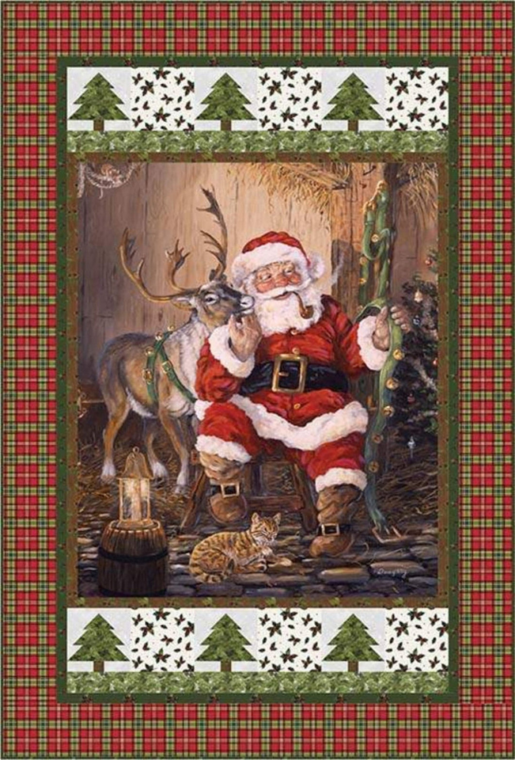 Time to Go Christmas Quilt- Riley Blake