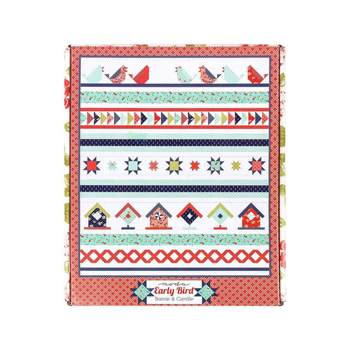 Song Bird Quilt Kit, featuring Early Bird fabric by Bonnie and Camille for Moda Fabrics (KIT55190)
