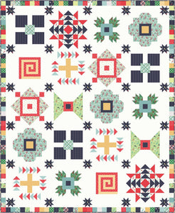 "Sugar House Picnic Quilt Kit, 72"" x 85"", Riley Blake, Amy Smart, KT0216"