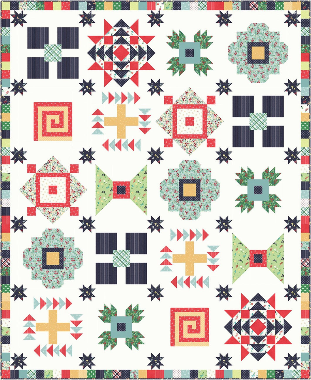 Sugar House Picnic Quilt Kit, 72