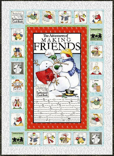 Snow Sweet Advent Quilt by J. Wecker Frisch for Riley Blake Fabrics