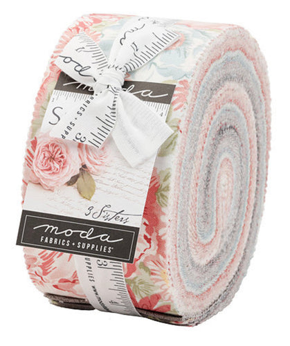 Sanctuary by 3 Sisters for Moda Fabric- Jelly Roll- 40 (2.5 in strips)
