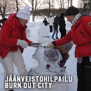 BURN OUT CITY: JÄÄNVEISTO
