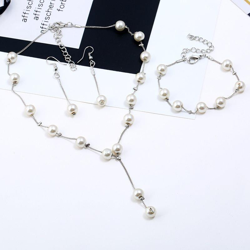 Geometric Bracelet E-Plating Wedding Jewelry Sets