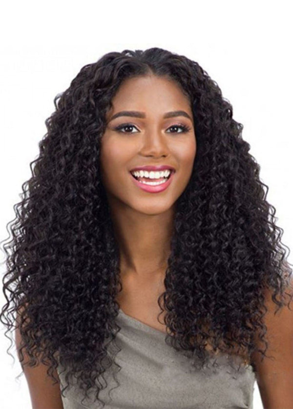 Lace Front Cap Curly Women Human Hair 120% Wigs