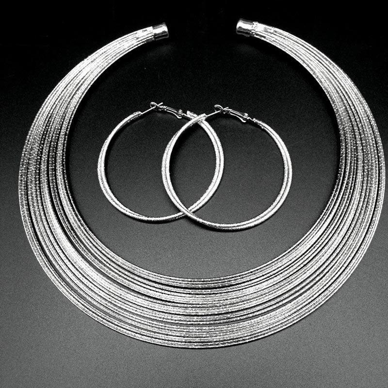 Earrings European E-Plating Birthday Jewelry Sets