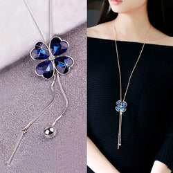 Pendant Necklace Leaf Korean Female Necklaces